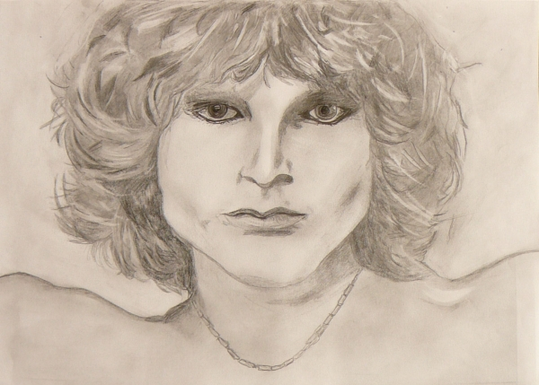 Jim Morrison by Gina